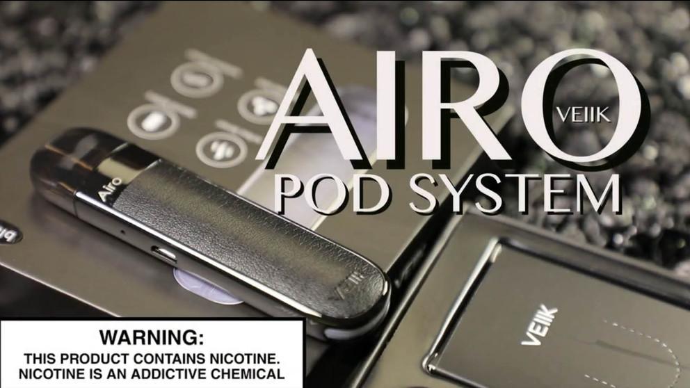 AIRO Pod System By VEIIK _Vape Pod System Review_