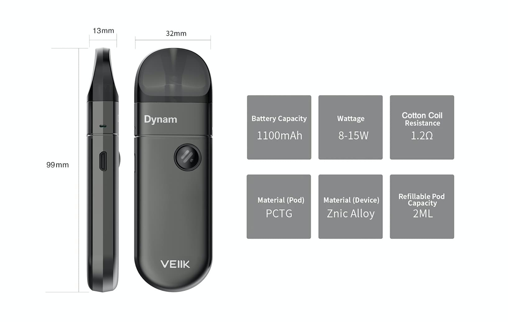 VEIIK best pod company for high-end personal vaporizer