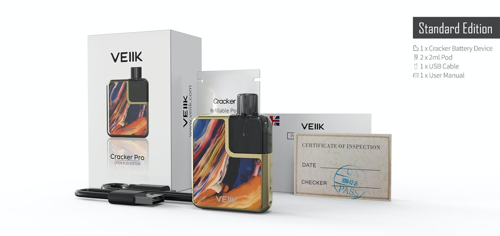 VEIIK exquisite pod devices supplier high-end personal vaporizer