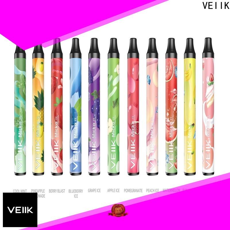 VEIIK good quality electronic vaporizer vendor for e cig market