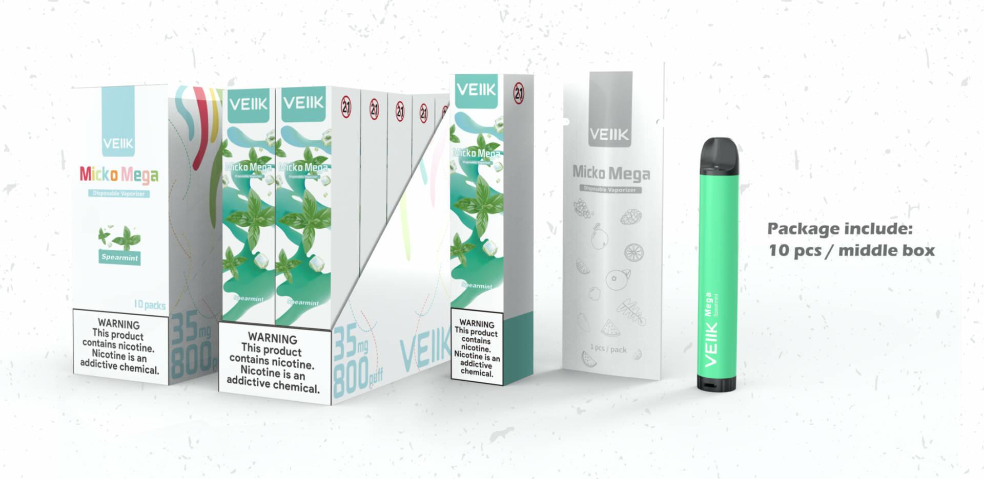 VEIIK vaping devices vendor for e cig market