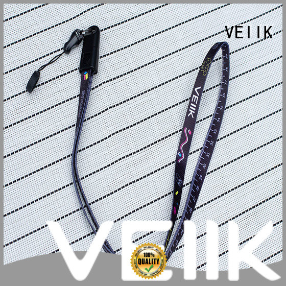 VEIIK durable custom made lanyards helpful for vape pods
