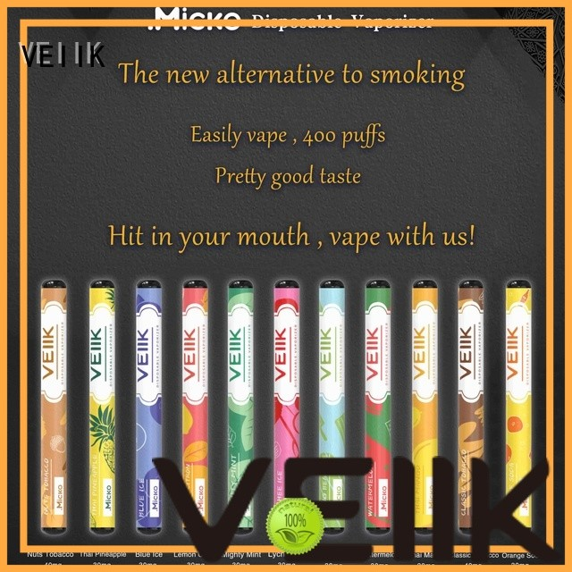 VEIIK easy to use vaping devices supplier e cig market