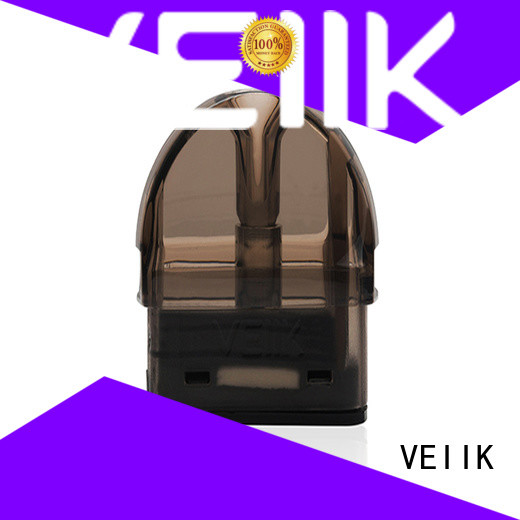VEIIK durable pod cartridges helpful for vape electronic cigarette