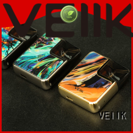 simple operation cracker pod by veiik brand professional personal vaporizer